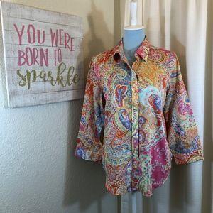 LRL Ralph Lauren Button Down Shirt, Size XL